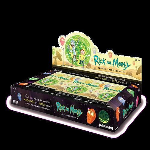 海外アニメ 2019 Cryptozoic Rick and Morty Season 2 box #RickandMorty