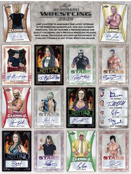 ラス1 2020 Leaf Ultimate Wrestling Hobby box #プロレス #棚橋 #サインカード