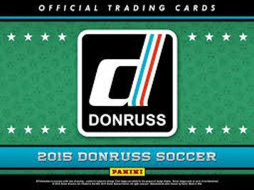 SOCCER 2015 PANINI DONRUSS box 平均箱1枚サイン #パニーニ #RONALDO #MESSI
