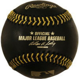 RAWLINGS MLB ブラックボール #メジャーリーグ #公式球 紙箱 MAJOR LEAGUE BASEBALL #MLB #野球 #ボール