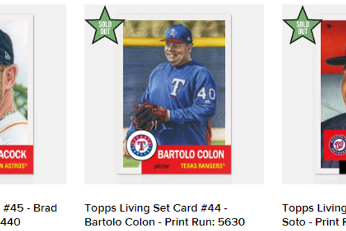 TOPPS LIVING SET Week15 3cards set #mlb #baseball #toppslivingset