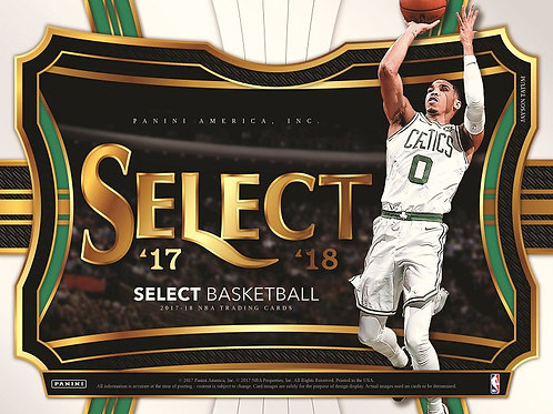 NBA 2017-18 Panini SELECT BOX #MITCHELL #TATUM