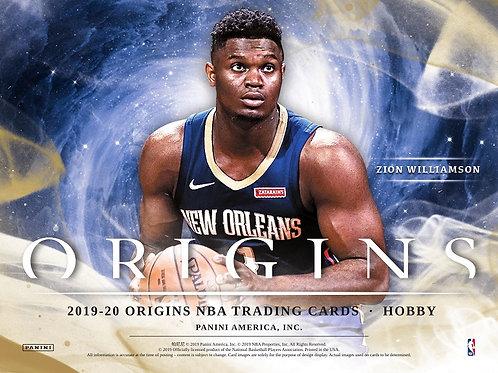 NBA 2019-20 Panini ORIGINS box #NBA #ZION #八村塁 #JaMorant