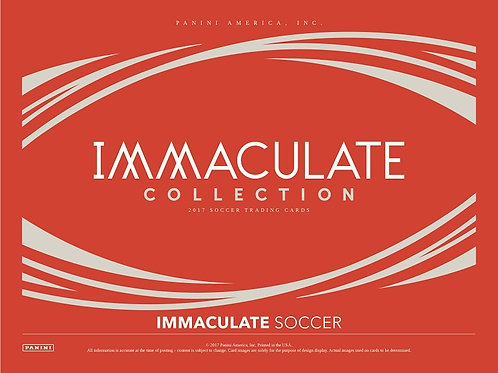 SOCCER 2017-18 PANINI IMMACULATE 1CASE 5BOX #MESSI #GIGGS