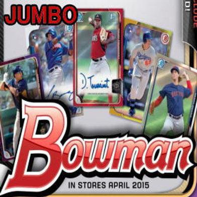 MLB 2015 BOWMAN JUMBO BOX #ALBIES #DEVERS