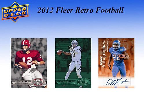 NFL 2012 UD FLEER RETRO #PMG #サイン6枚