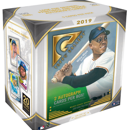 MLB 2019 TOPPS GALLERY box #petealonso #guerrerojr #Art