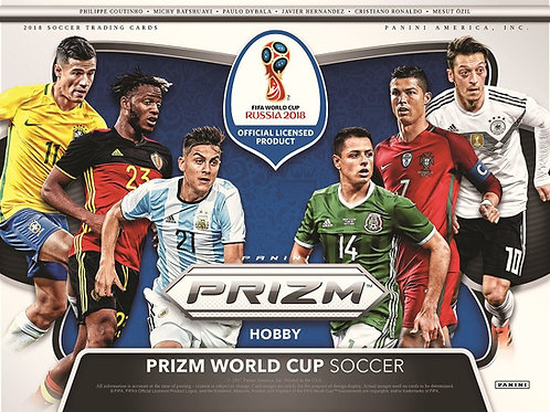 SOCCER 2018 PANINI PRIZM WORLD CUP box #MBAPPE #日本代表