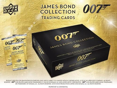 2019 Upper Deck UD 007 James Bond Collection Hobby Box #007 #JAMESBOND #サインカード