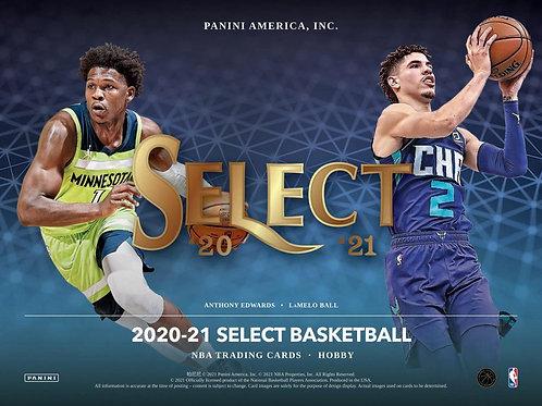 NBA 2020-21 Panini SELECT HOBBY box #NBA #LameloBall #Panini