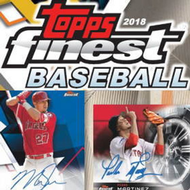 BGB MLB 2018 TOPPS FINEST 1case 12-HIT DRAFT