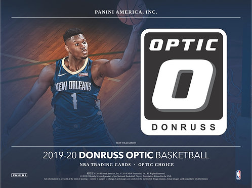 NBA 2019-20 Panini OPTIC Choice box #NBA #ZION #八村塁 #JaMorant