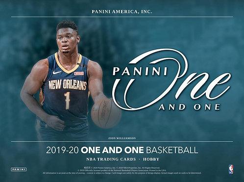 NBA 2019-20 Panini ONE Hobby box #NBA #ZIONWILLIAMSON #八村塁 #JaMorant