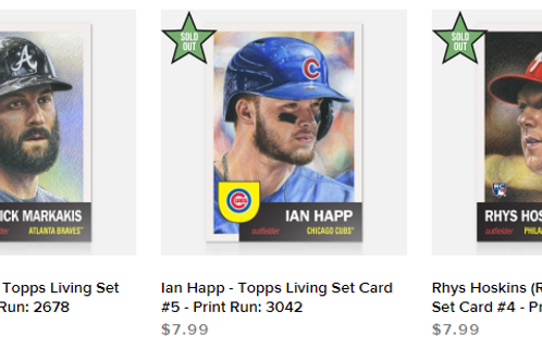 TOPPS LIVING SET Week2 3cards set #mlb #baseball #toppslivingset