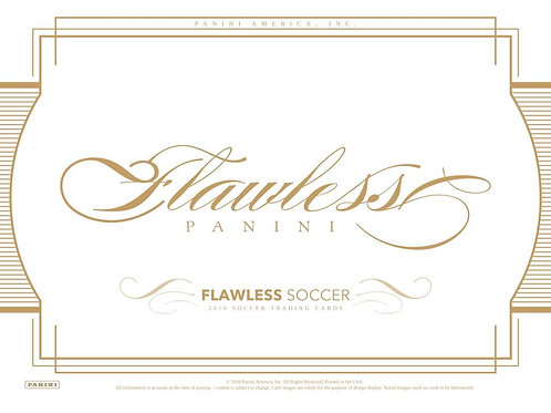 SOCCER 2015-16 PANINI FLAWLESS CASE 2BOX #パニーニ