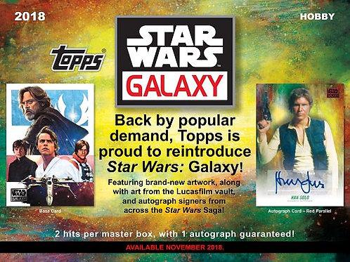 映画トレカ 2018 Topps Star Wars Galaxy #スターウォーズ #STARWARS