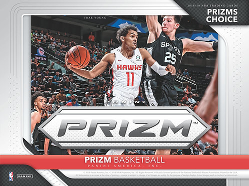 NBA 2018-19 Panini PRIZM CHOICE Basketball box #バスケカード #NBA