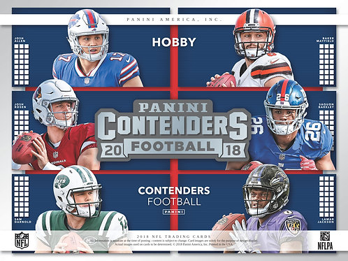 NFL 2018 PANINI CONTENDERS box #Football #アメフト #NFL