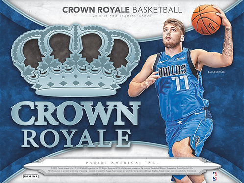 NBA 2018-19 Panini CROWN ROYALE Basketball box #バスケカード #NBA #Doncic