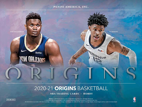 NBA 2020-21 Panini ORIGINS box #NBA #LameloBall #Panini