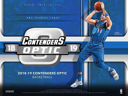 NBA 2018-19 Panini CONTENDERS OPTIC box #バスケカード #NBA #Doncic #Young