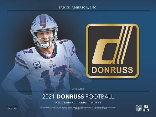 NFL 2021 PANINI DONRUSS Hobby box #Football #アメフト #NFL