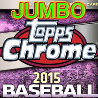 MLB 2015 Topps CHROME JUMBO BOX #KRISBRYANT
