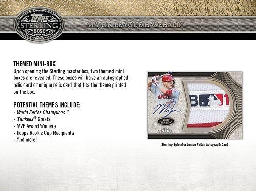 MLB 2020 TOPPS STERLING box #TOPPS #BASEBALL #MLB