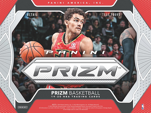 NBA 2019-20 Panini PRIZM MULTIPACK box #NBA #ZION #八村塁 #JaMorant