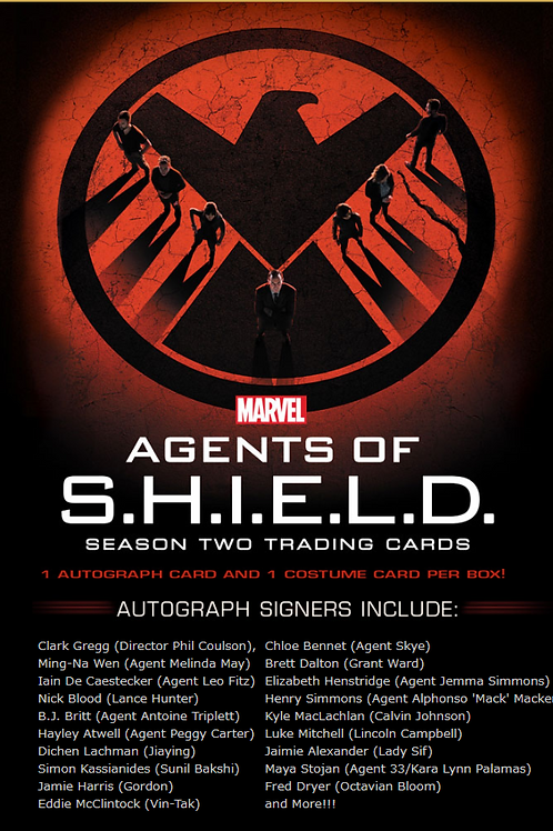 海外ドラマ 2015 RITTENHOUSE Marvel Agents of SHIELD Season2 #Marvel #shield