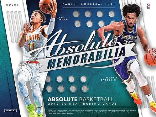 NBA 2019-20 Panini ABSOLUTE box #NBA #ZION #八村塁 #JaMorant