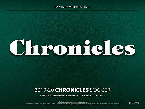 SOCCER 2019-20 PANINI CHRONICLE box #パニーニ #PANINI #サッカー #KUBO