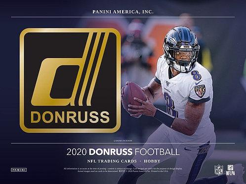 NFL 2020 PANINI DONRUSS box #Football #アメフト #NFL #パニーニ