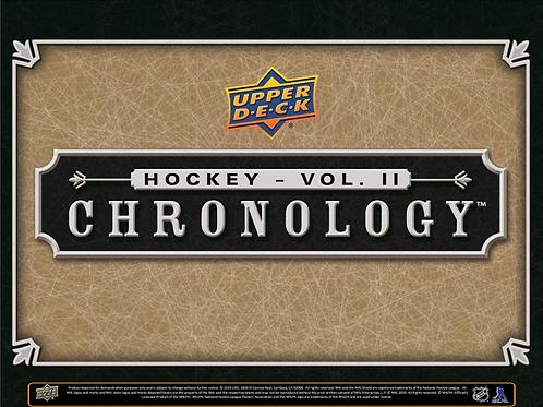 NHL 2020-21 UD Chronology Volume 2 box #Hockey #NHL #アイスホッケー