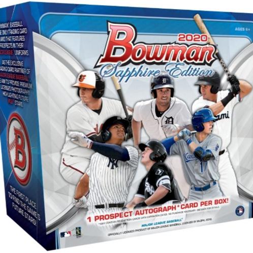 MLB 2020 BOWMAN SAPPHIRE box #TOPPS #BobbyWitt #JASSONDOMINGUEZ
