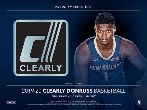 NBA 2019-20 Panini DONRUSS CLEARLY box #NBA #ZIONWILLIAMSON #八村塁 #JaMorant