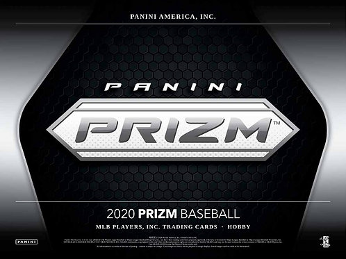 MLB 2020 PANINI PRIZM Hobby Baseball box #Panini #BASEBALL #MLB #BoBichette