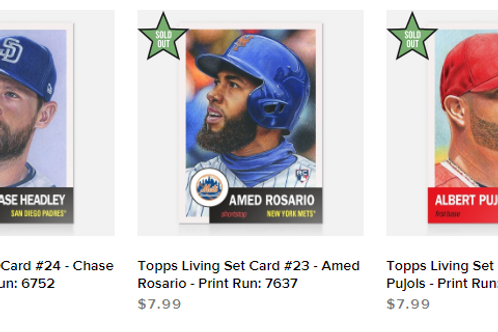 TOPPS LIVING SET Week8 3cards set #mlb #baseball #toppslivingset