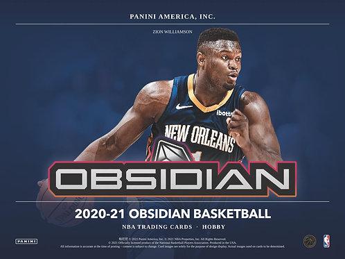 NBA 2020-21 Panini OBSIDIAN box #NBA #LameloBall #Panini