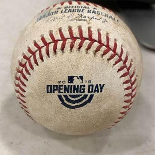 大谷翔平 直筆サイン入り 2018年公式戦実使用ボール ANGELS Game Used baseball