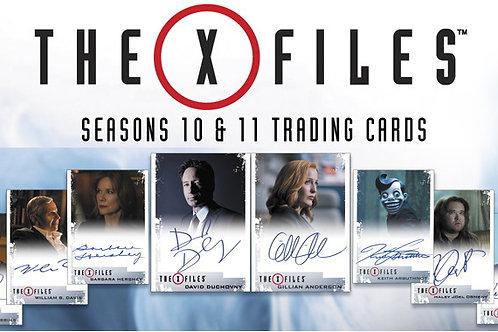 海外ドラマ 2018 X-Files: Seasons 10 and 11 box #サインカード3枚入 #海外ドラマ #XFILE