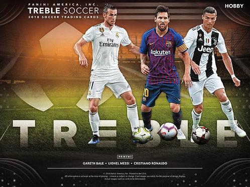 SOCCER 2018 PANINI TREBLE box #パニーニ #RONALDO #MESSI #サッカー