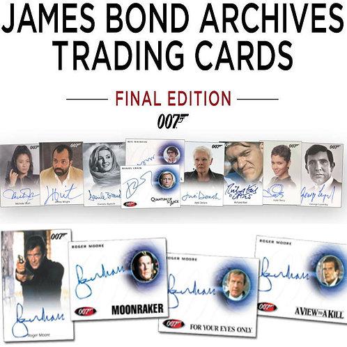 2017 RITTENHOUSE JAMES BOND Archives FINAL #007 #JAMESBOND