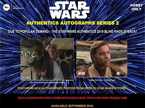 映画 2019 Topps Star Wars Authentics Series2 box #スターウォーズ #StarWars #直筆サインフォト