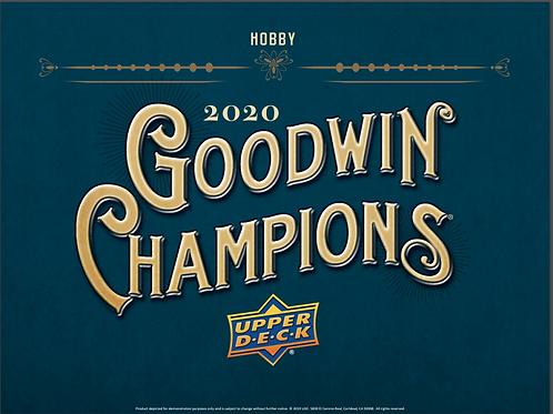 NBA 2020 UD GOODWIN CHAMPIONS box #LEBRONJAMES #JORDAN #EXQUISITE