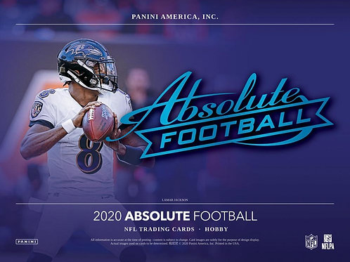 NFL 2020 PANINI ABSOLUTE box #Football #アメフト #NFL #パニーニ
