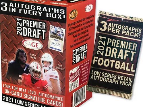 NFL 2021 SAGE Blaster box #サイン3枚 #Football #アメフト #NFL