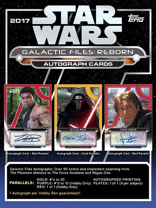 スターウォーズ 2017 TOPPS STAR WARS Galactic Files Reborn #STARWARS