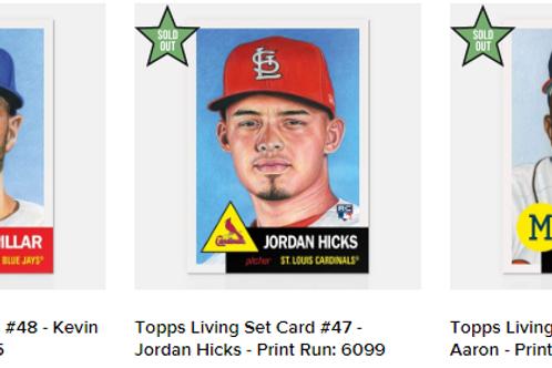 TOPPS LIVING SET Week16 3cards set #mlb #baseball #toppslivingset