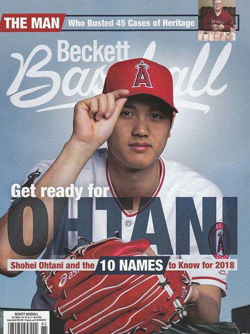 MLB【入荷】大谷翔平 エンゼルス 1stカバー #146号 BECKETT PRICE GUIDE
